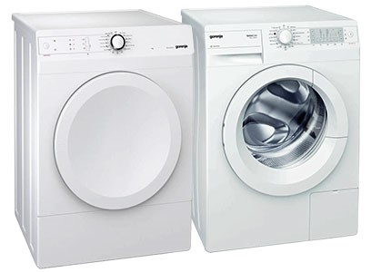 """24"""" COMPACT FRONT LOAD LAUNDRY PAIR"""