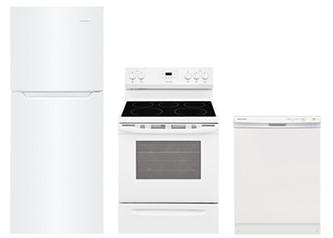 Frigidaire Apartment Kitchen Bundle (White)