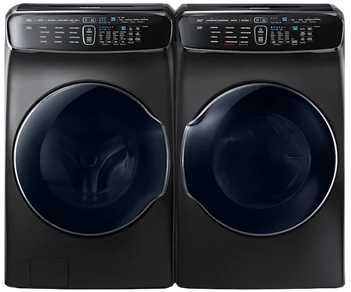 Samsung  Flex Wash Washer & Electric Steam Dryer