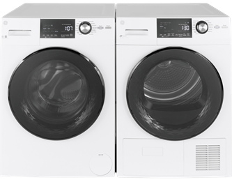 Front Load Steam Washer and Vented Electric Dryer