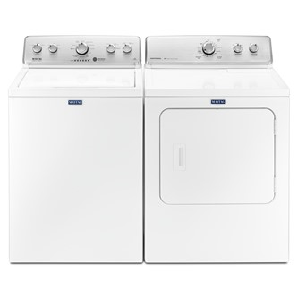 TOP LOAD WASHER & FRONT LOAD DRYER