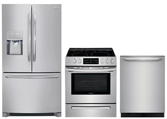 Frigidaire Gallery Stainless Steel 3 PC Kitchen Package