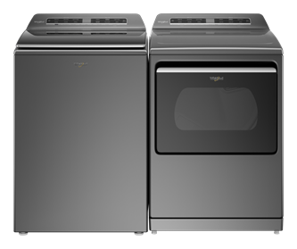 Top Load Washer and Top Load Electric Dryer