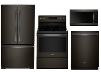 WHIRLPOOL STAINLESS KITCHEN PACKAGE - WDT750SAHV, WRF535SWHV, YWFE550S0HV, YWMH53521HV