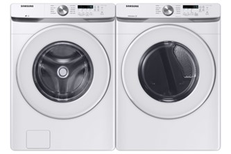 5.2 Cu.Ft. Front Load Washer & 7.5 cu.ft. Dryer
