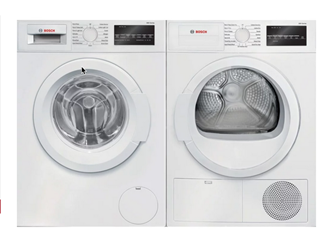 BOSCH FRONT LOAD LAUNDRY - WAT28400UC, WTG86400UC