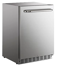 "24"" SOLID DOOR FRIDGE"