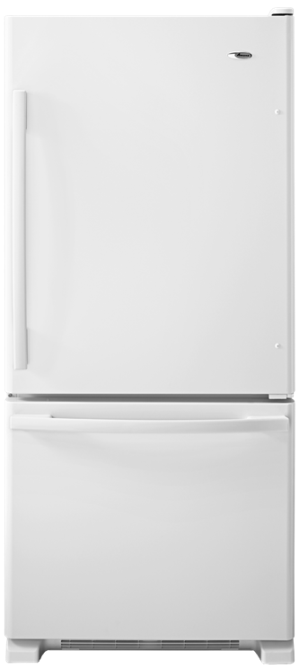 Amana® 18.5 cu. ft. Bottom-Freezer Refrigerator with Greater Efficiency