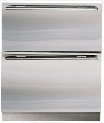 27 Inch Built-in Double Drawer Refrigerator with 5.3 cu. ft. Capacity