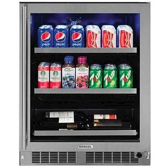 "Marvel 24"" Beverage Center with Dynamic Cooling Technology"