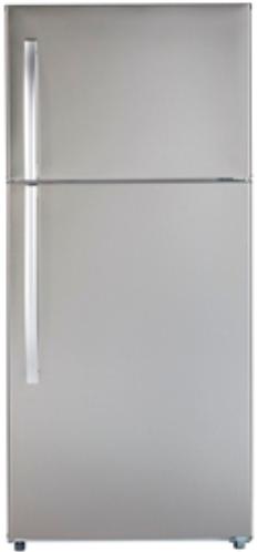 MTE18GSKSS - Stainless Moffat 18 Cu. Ft. Top-Freezer No-Frost Refrigerator