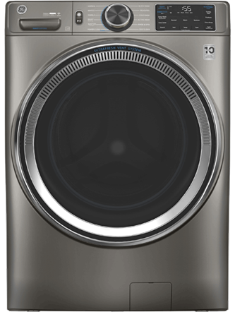 GE™ 5.5 cu. ft. (IEC) Capacity Washer with Built-In Wifi Satin Nickel - GFW650SPNSN