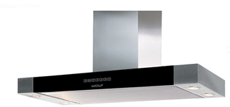 Wall Mount Chimney Range Hood with 4-Speed Control
