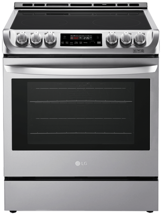 6.3 cu. ft. Electric Slide-in Range with ProBakeConvection™ and EasyClean™
