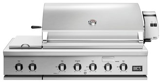 """48"""" Grill, Rotisserie and Side Burners, Natural Gas"""