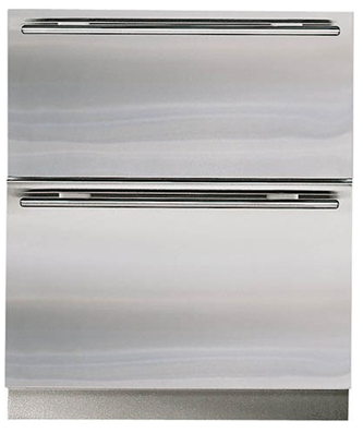 "Sub-Zero 700BFI 27"" Built-in Double Drawer Freezer w/Ice"